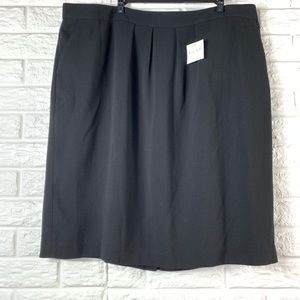 Kate Hill black NWT skirt size 22w